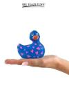 Mini canard vibrant Romance bleu et rose