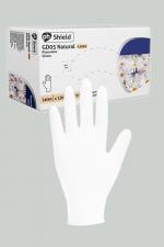 100 gants chirurgicaux en latex blanc : Une boite de 100 gants jetables en latex blancs pour jouer au docteur.
