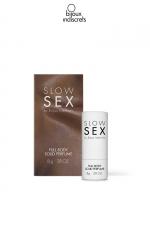 Parfum corporel solide : Parfum à la noix de coco spécialement étudié pour les parties intimes dans le respect du corps