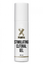 Stimulating Clitoral Gel (60 ml) - XPOWER : stimulant clitoridien sous forme de gel qui permet d'augmenter et d'intensifier les orgasmes féminins.