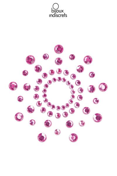 Bijoux de seins Mimi rose