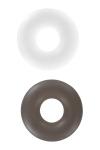 2 bagues d'érection Stud Ring