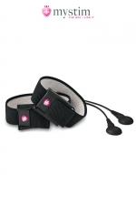 Kit électro-stimulation Charming Chuck - Mystim : Stimulateur MyStim par impulsions électriques pour le pénis et / ou les testicules.