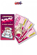 Coupons XXX : Un carnet de 10 faveurs sexuelles HOT à souhait pour mettre votre couple en ébullition!