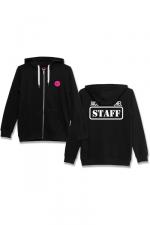 Veste à capuche J&M Staff noir