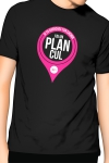 T-Shirt J&M J'ai un Plan cul - noir