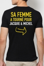 Tee shirt  Provoc J&M