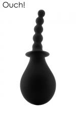 Poire anale 260 ml - Ouch! : Poire à lavement anal 100% silicone par la marque Ouh! Garantit une hygiène irréprochable avant la pratique du sexe anal.