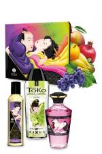 Coffret baisers fruités - Shunga : Le coffret cadeau idéal pour vous initier aux plaisirs du massage par Shunga.