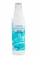 Nettoyant sextoys : Lotion Nettoyante spécial sextoys 100mL.