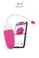 Oeuf vibrant connecté Magic Vini - Magic Motion : Le top des stimulateurs féminins connectés pour se faire plaisir en couple dans l'intimité ou dans des lieux publics. Clitoridien et vaginal connecté, contrôlable depuis le sextoy ou à distance avec votre smartphone.