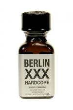 Poppers Berlin XXX 24 ml : Arôme liquide aphrodisiaque puissant à base de propyle, offrant des sensations rapides et intense.